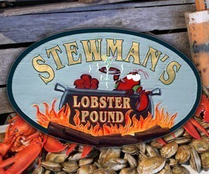 Stewman's Lobster Pound : Lobster!