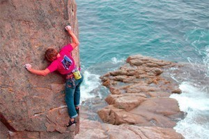 Atlantic Climbing School, Inc. :: For 21 years ACS has been the leader in rock climbing guiding & instruction in Maine. Maine's only climbing school w/ a 100% AMGA certified staff! First time climbers welcome!