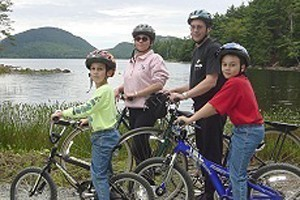 Acadia Bike - Bike Rentals :: There's no better way to experience Bar Harbor & the Carriage Roads in Acadia National Park, than by bike! We have the largest fleet of rental bikes, mountain bike or hybrid.