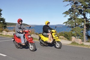 Acadia Outfitters - Rentals & Tours! :: Scooters, bikes, and sea kayaks - both guided tours and rentals. The 1st choice for people who want to experience all the outdoor fun Bar Harbor & Acadia National Park!