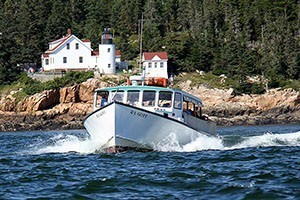 Island Cruises :: Long running cruises to see wildlife. Morning and afternoon cruises are daily. Boat seats 49. Explore Bass Harbor, and surrounding islands all nearby Acadia National Park.