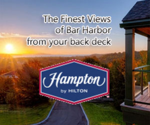 Hampton Inn Bar Harbor : Offering stunning views of the ocean and mountains, Hampton Inn Bar Harbor is set in a private, secluded location, just a short walk from downtown Bar Harbor. Book for summer!