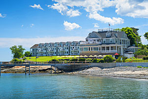 Bar Harbor Inn & Spa - waterfront views