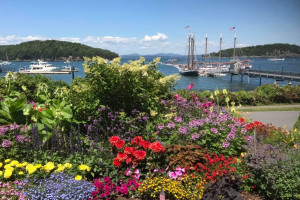 Bar Harbor Inn & Spa - amazing gardens