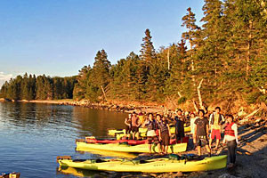 National Park Sea Kayak Tours - family fun