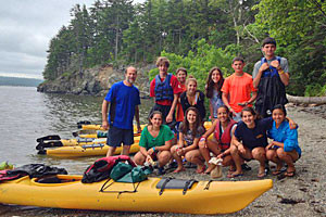 National Park Sea Kayak Tours - kids love it