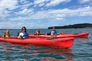 "National Park Sea Kayak Tours :: Ecological Sea Kayak Tours on the remote ""Westside"" of Acadia. 1/2 Day (4 hr.) AM, PM & Sunset trips led Professional Maine Guides. Highest Rated Kayak Outfitter in Acadia!"