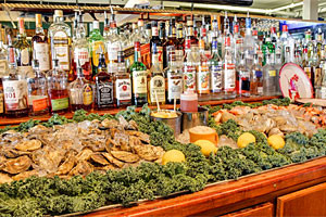Fish House Grill - fine dining on the waterfront :: Enjoy delicious seafood with the Fish House Grill! Various lovely assortments of meals available with their lunch and dinner menus! Best seafood and bar in Bar Harbor