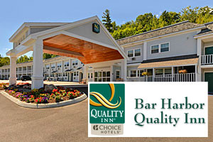 Bar Harbor Quality Inn :: Within walking distance to the historic village waterfront, shops, restaurants, & downtown Bar Harbor. Heated outdoor pool, restaurant, modern amenities, & value packages!