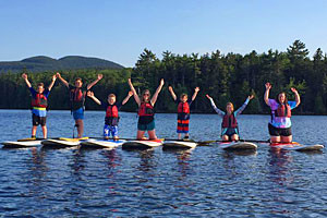 Acadia Stand Up Paddle Boarding for kids