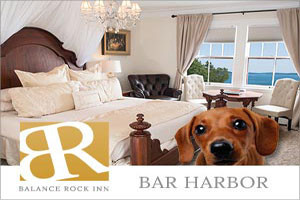 Balance Rock Inn - Bed & Breakfast :: Luxurious, premier oceanfront Bed & Breakfast in downtown Bar Harbor overlooking Frenchman's Bay. Walk to restaurants, shops, & everything Bar Harbor has to offer! Book today!
