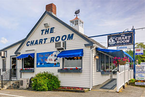 The Chart Room - Where The Locals Dine! :: A Bar Harbor staple for over 20 years! Menu includes perfectly prepared seafood, lobster, prime rib, pasta, and so much more! 2 miles from downtown Bar Harbor in Hulls Cove.