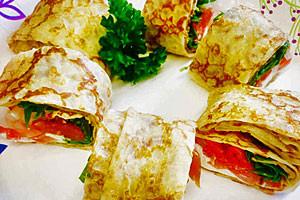 Sunrise Cafe - fresh seafood crepes