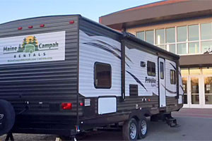 Maine Campah Rentals - trailers for fall rental