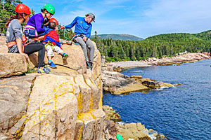 Acadia Mountain Guides - Guided Intro Climbs