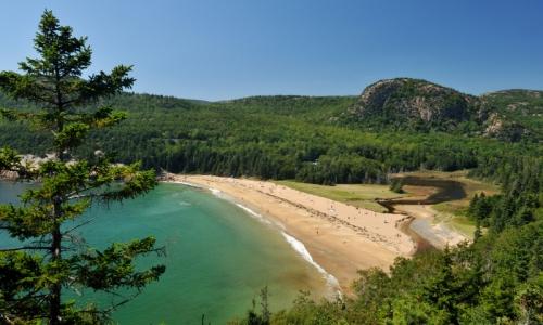 Acadia National Park Maine Sand Beach