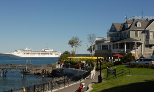 Bar Harbor Maine Cruise Ship Path Trail