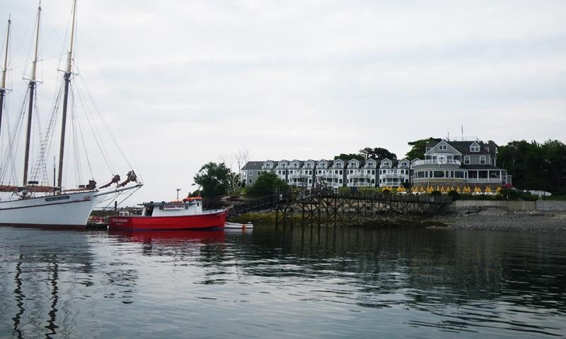 Bar Harbor Inn Maine Marina Boat Boating