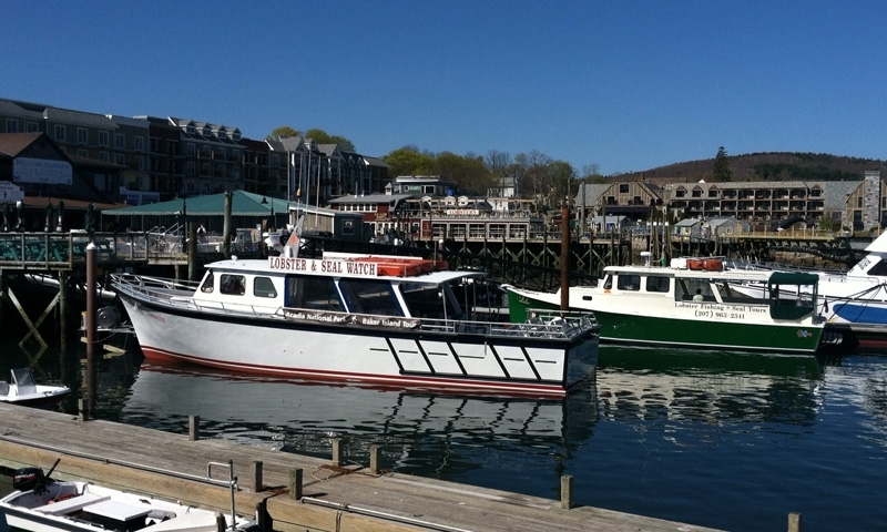Lobster Boats in Bar Harbor