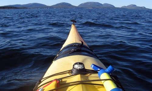 Kayak Sea Kayak Acadia National Park Maine