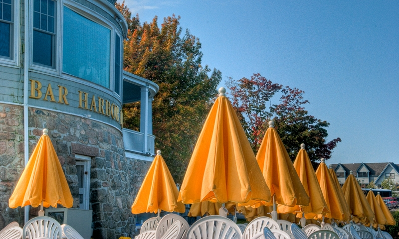 Bar Harbor Maine Downtown Restaurant