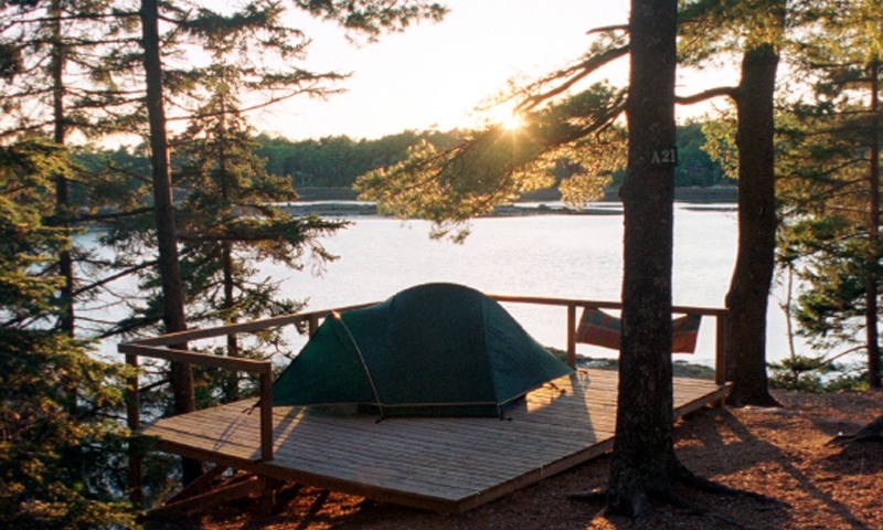 Acadia National Park Maine Camping Tent