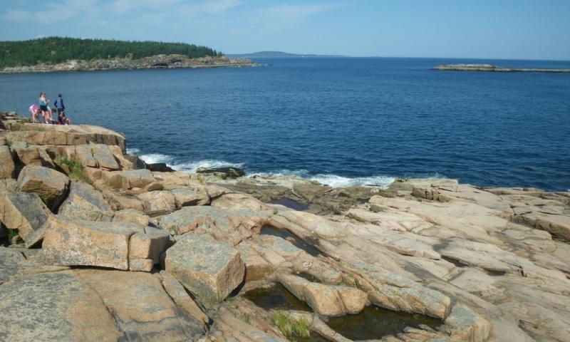 Acadia National Park Maine Coast Bar Harbor