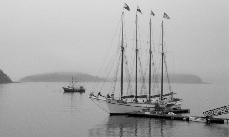 Bar Harbor Maine Boat Boating Windjammer