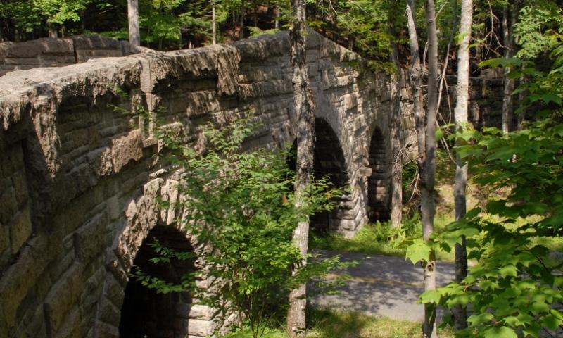 Stanley Brook Bridge Acadia Maine