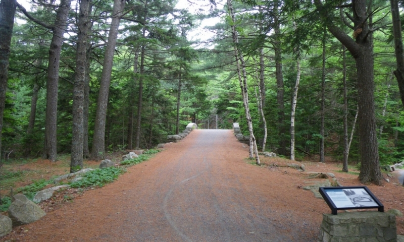 Carriage Road near Jordan Pond