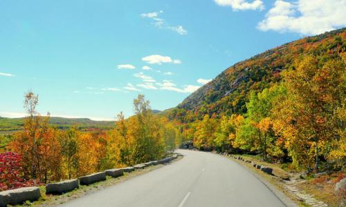 Park Loop Road Acadia
