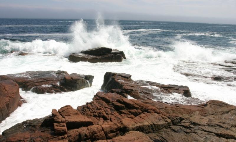 Acadia National Park Maine Thunder Hole
