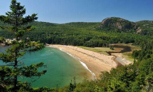 Sand Beach Maine