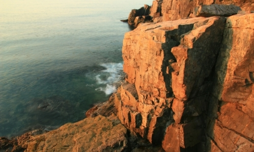 Acadia Otter Cliffs Maine
