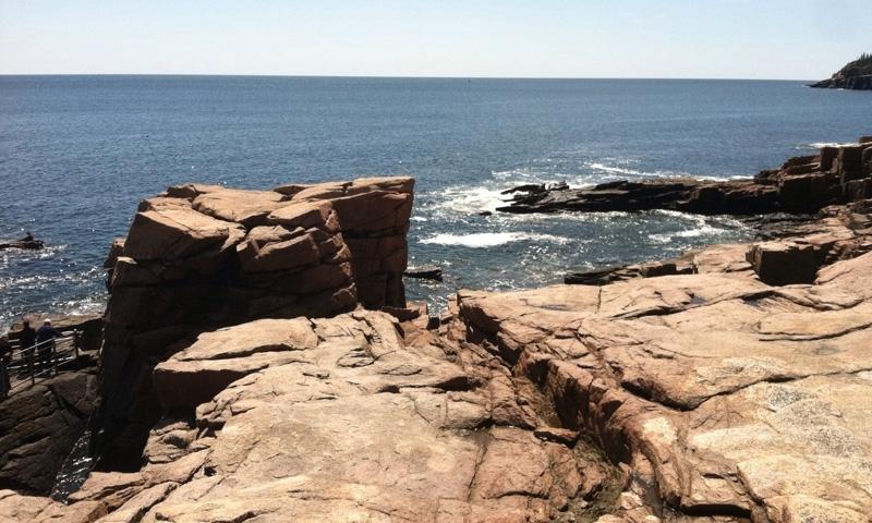 Otter Cliffs Acadia