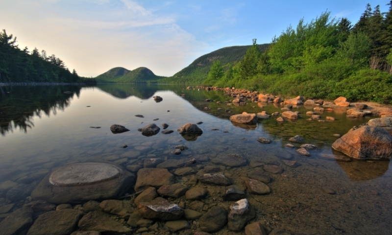 Acadia National Park Lakes Rivers Amp Waterfalls Alltrips