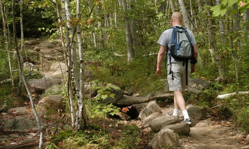 Acadia National Park Maine Champlain Mountain Hiking Trail