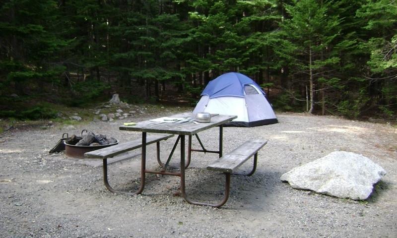 Blackwoods Campground Acadia