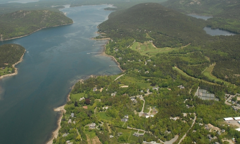 Somes Sound Mount Desert Island Acadia National Park Maine