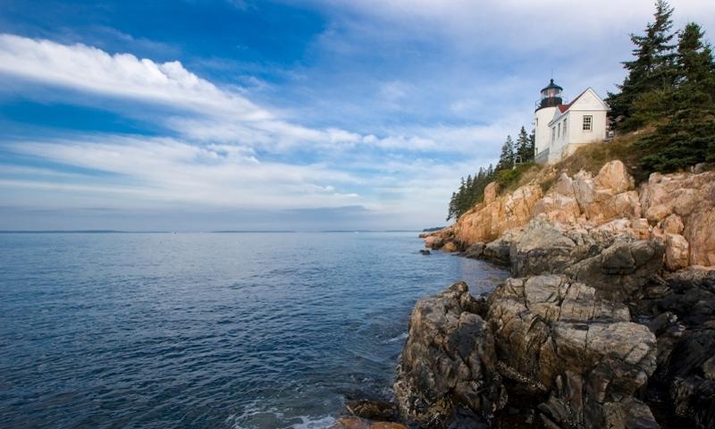 Bass Harbor Lighthouse Bar Harbor Maine