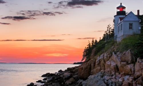 Bass Harbor Head Lighthouse Maine Alltrips