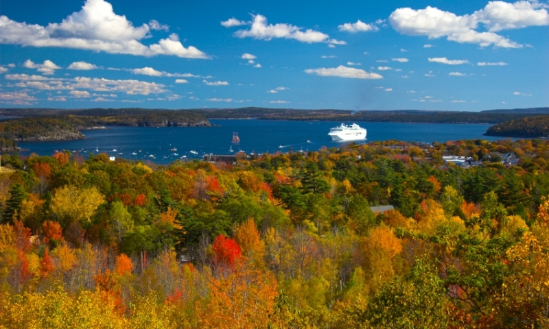 Acadia National Park Maine Fall Foliage Cruise