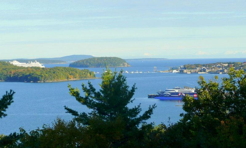 Frenchman Bay in Maine