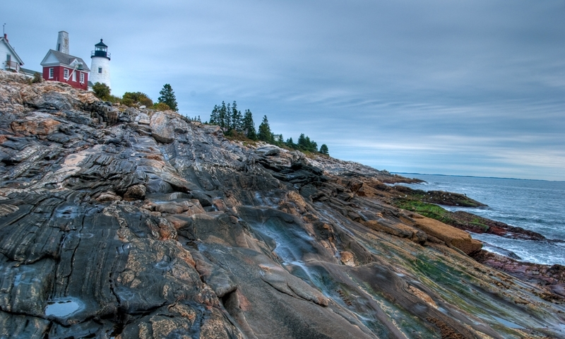 Maine Tourism Pemaquid Point Lighthouse Alltrips