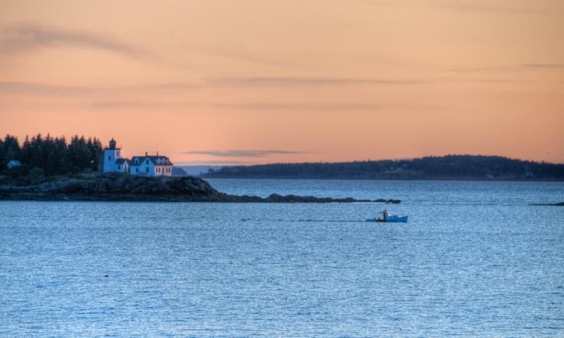 Penobscot Bay Maine Sunrise
